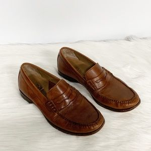 Cole Haan | Brown Leather Penny Loafers 9